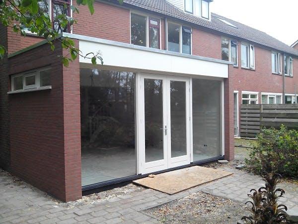 Kosten Aanbouw Badkamer : Aanbouw met veel glas perfect glazen aanbouw industrial look