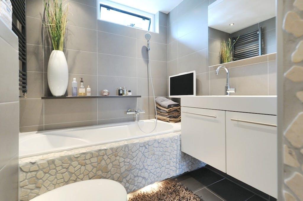verbouwing van de badkamer